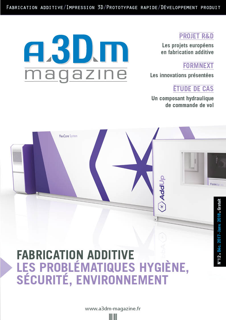 Couverture A3DM Magazine n°12