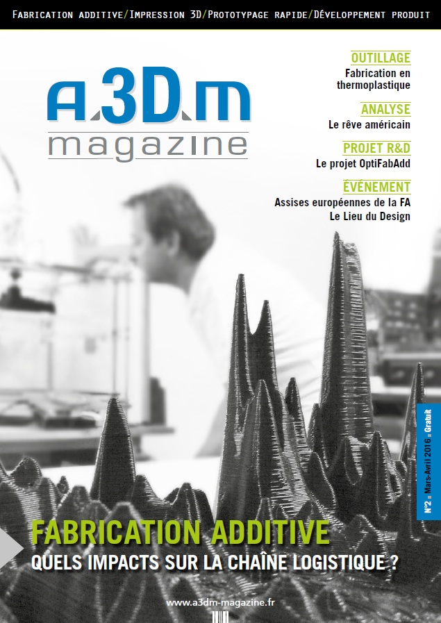 Couverture A3DM Magazine n°2