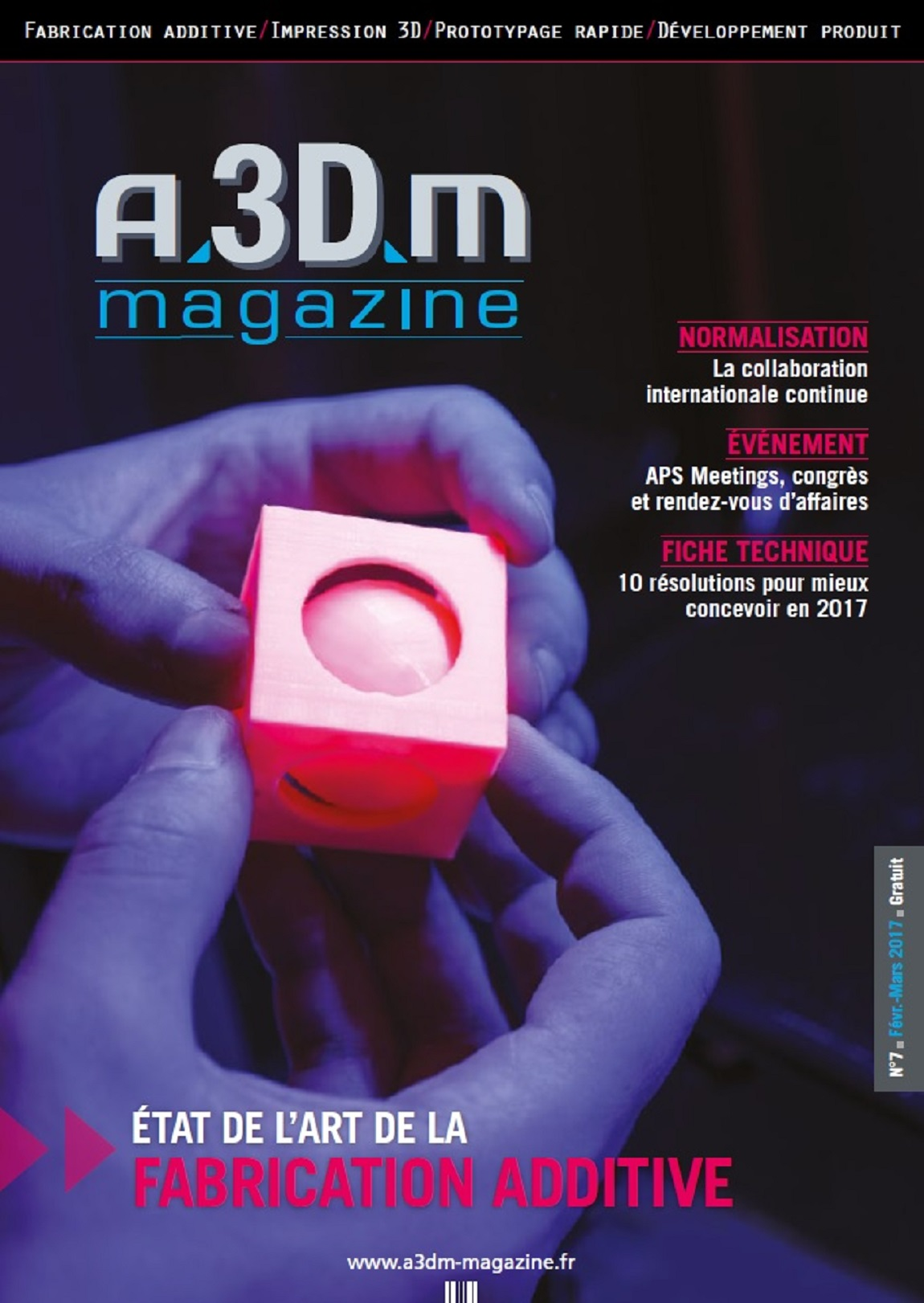 Couverture A3DM Magazine n°7
