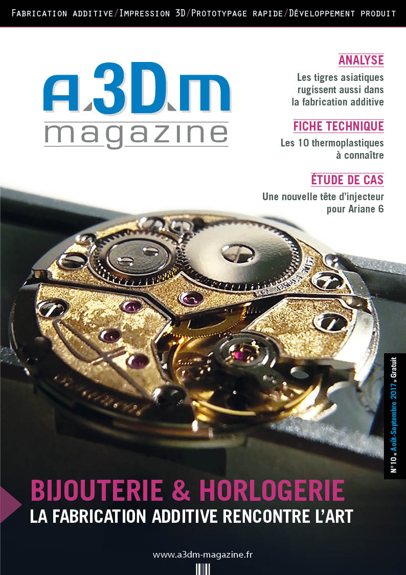 Couverture A3DM Magazine n°10