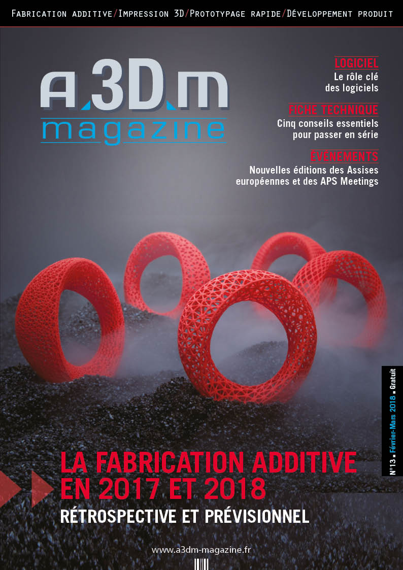 Couverture A3DM Magazine n°13