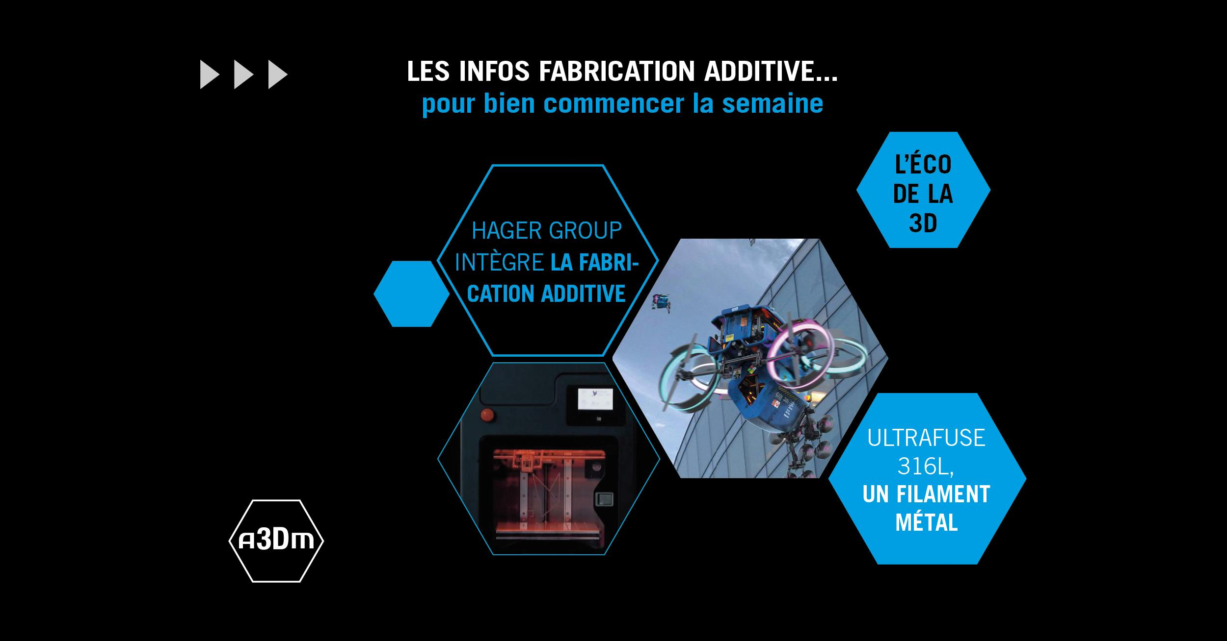 L'hebdo de la fabrication additive #13