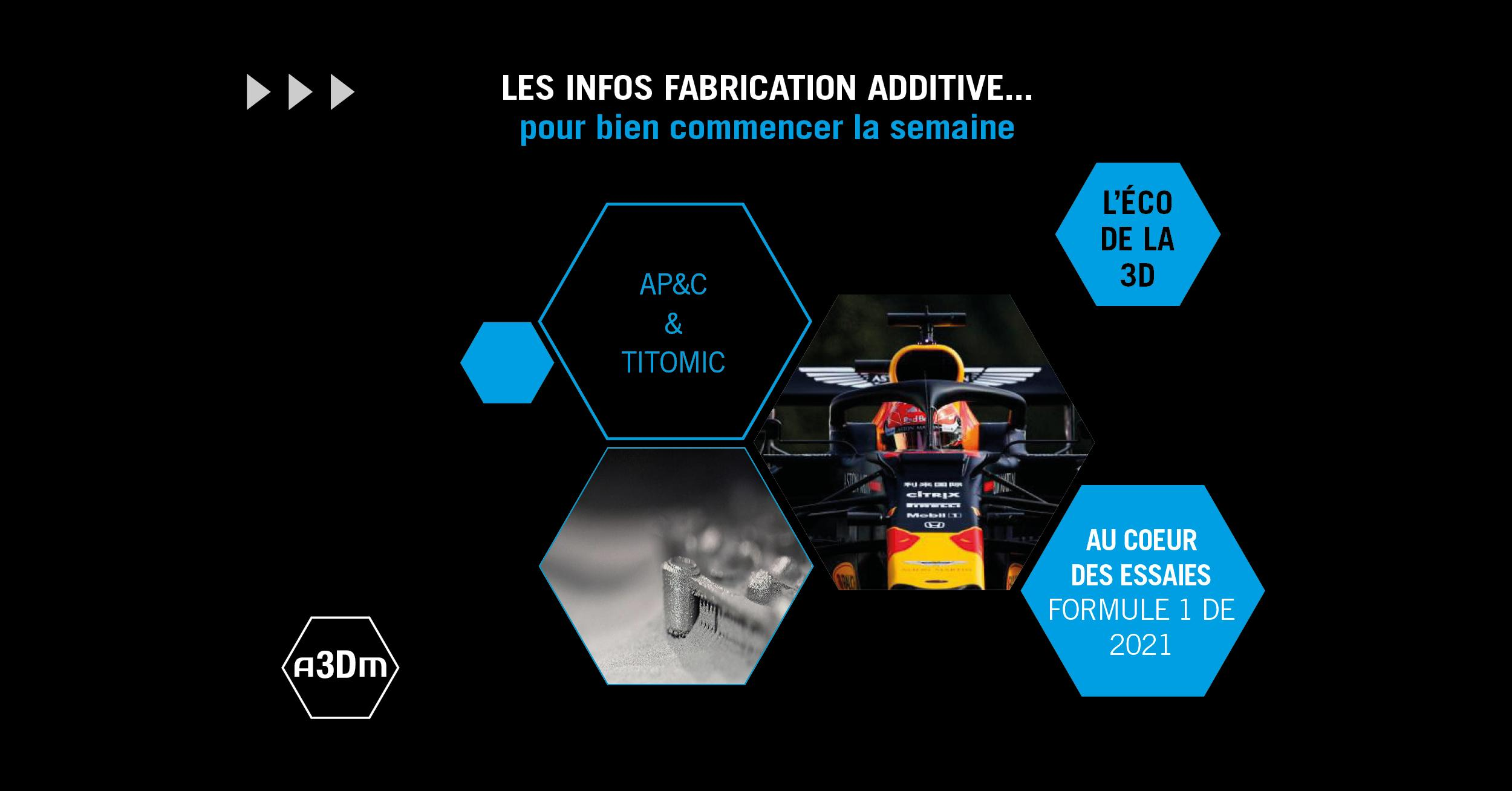 Les infos de la fabrication additive #17
