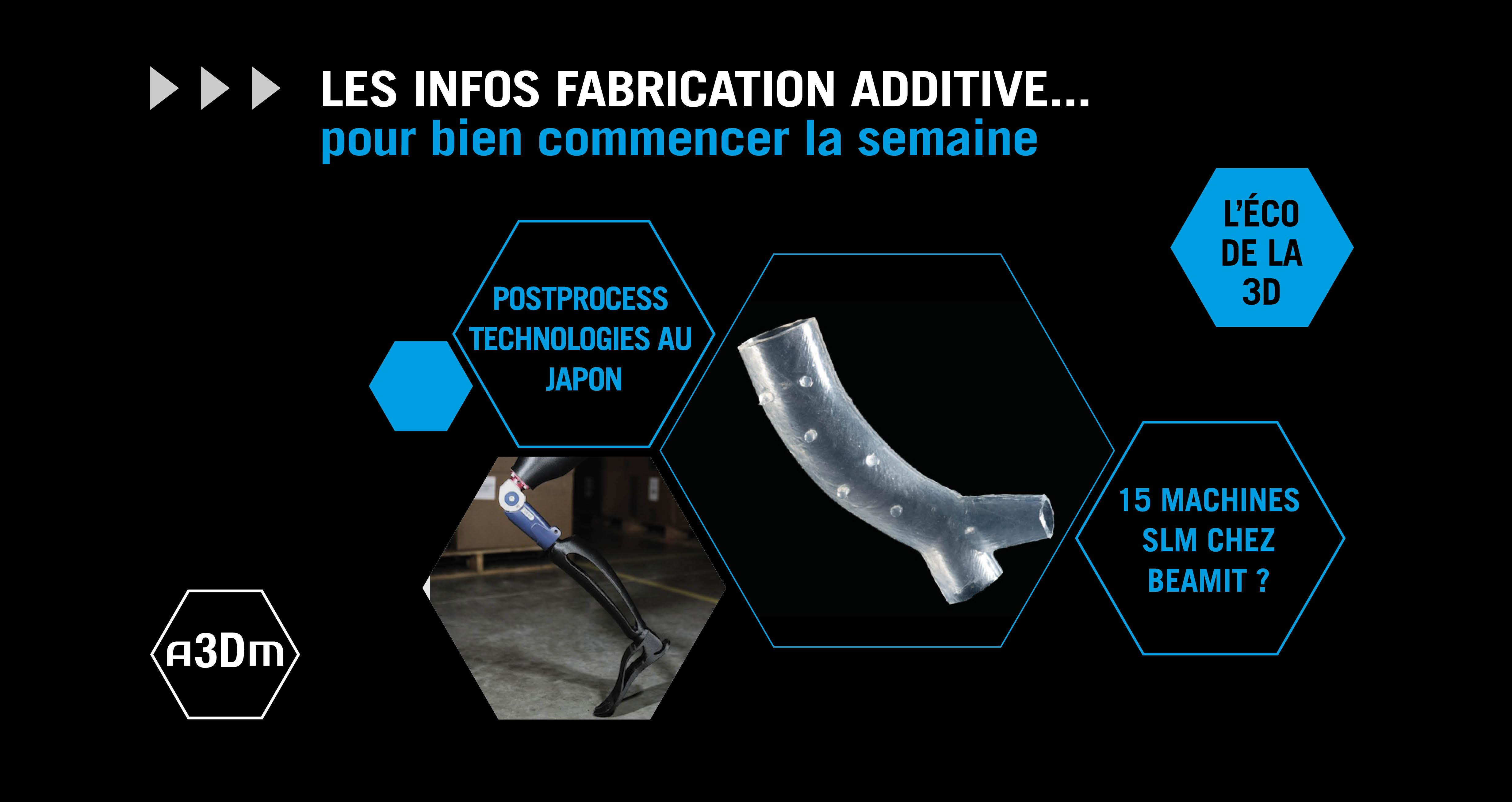 Infos fabrication additive semaine #31