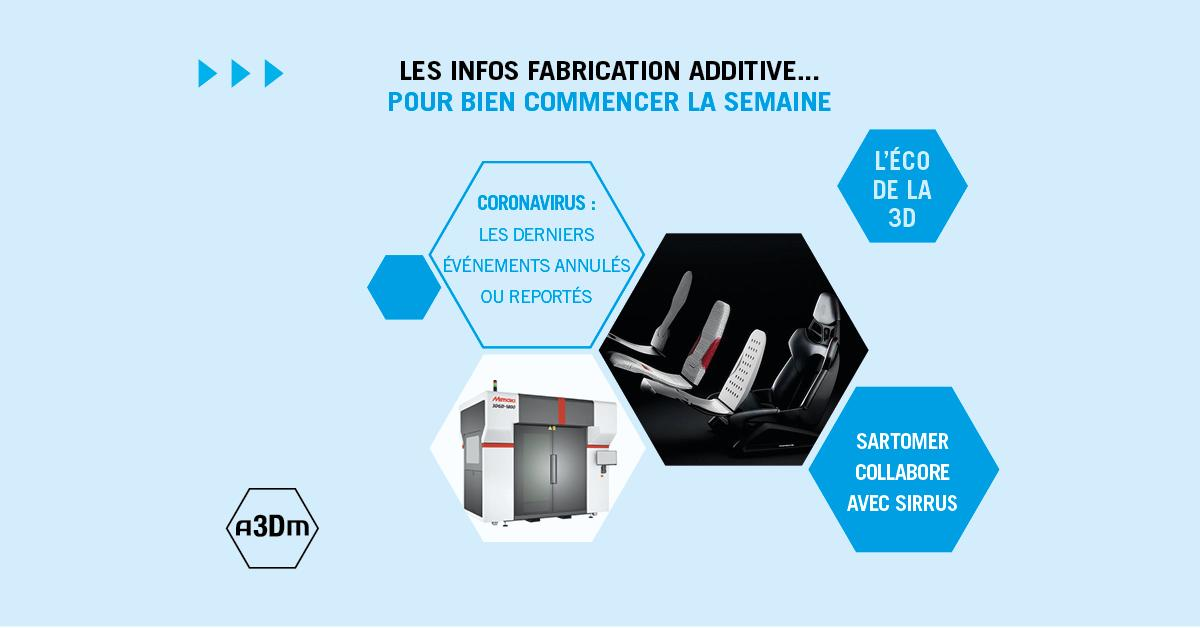 L'hebdo de la fabrication additive #38