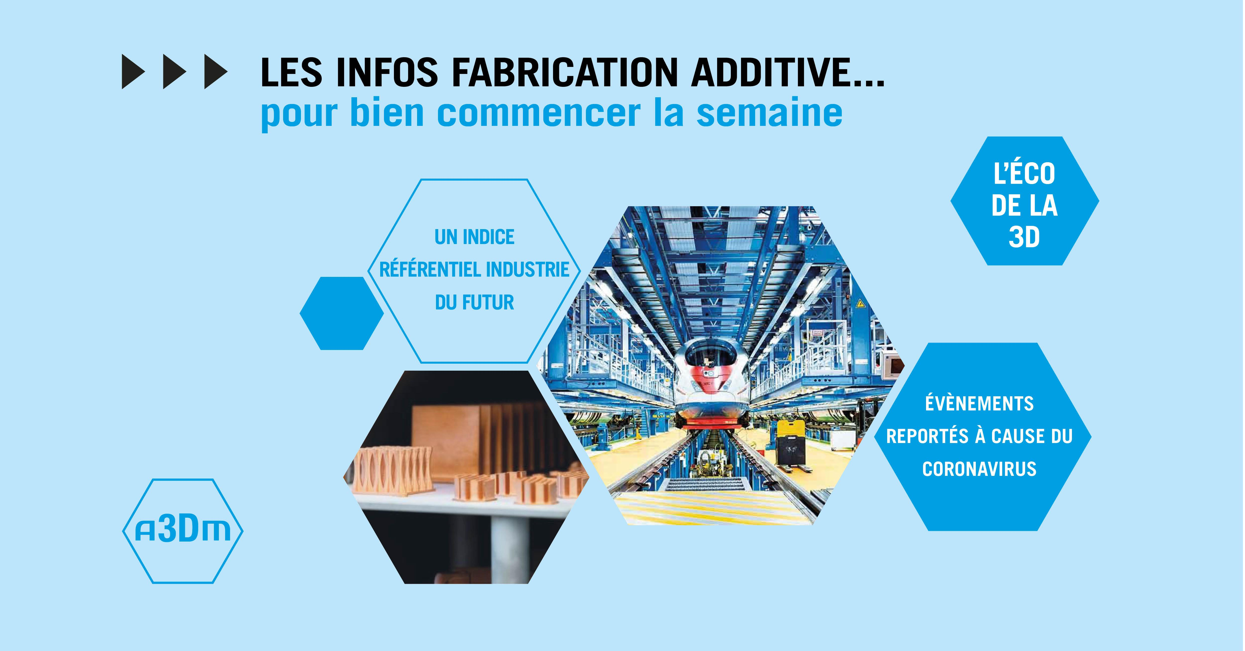 Infos fabrication additive semaine 34
