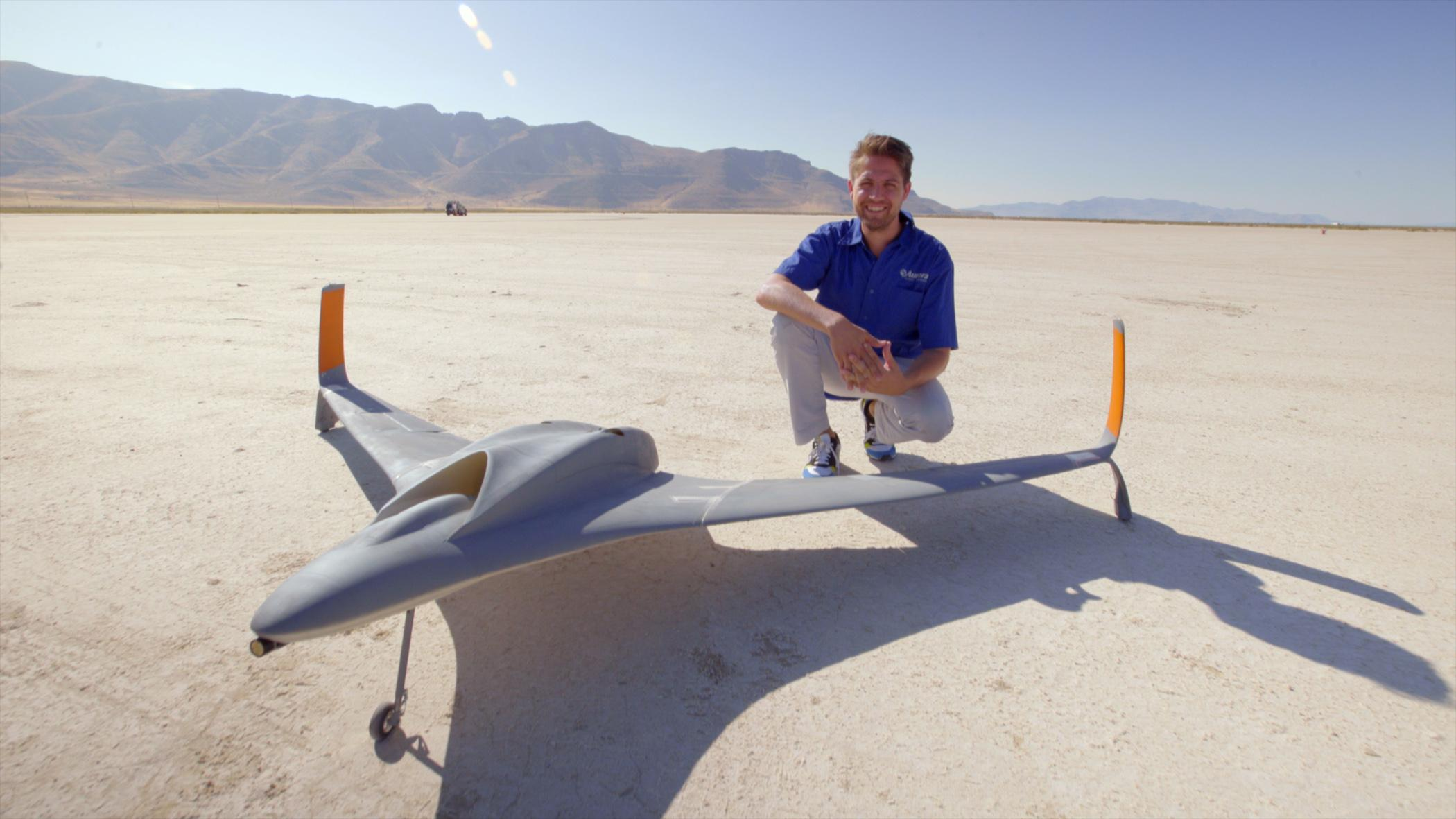 Drone UAV par Aurora Flight Sciences et Stratasys
