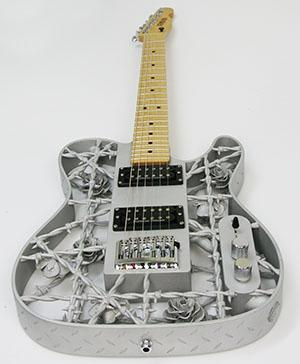 Guitare-fabrication-additive-impression-musique-a3dm