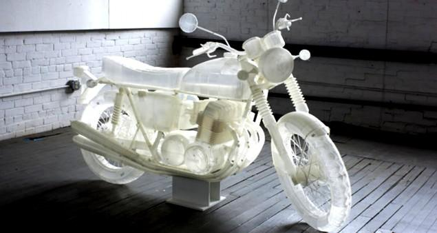 fabrication additive Honda CB 500 slide - A3DM Magazine
