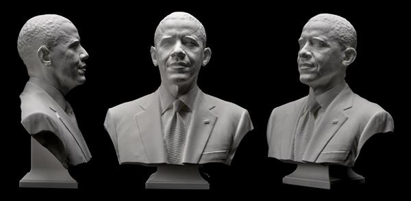 Obama-fabrication-additive-impression-3D-buste-a3dm