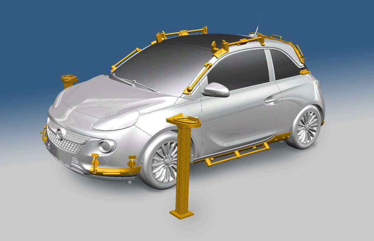 Opel fabrication additive Adam Rocks impression outillage A3DM Magazine credit GM Company