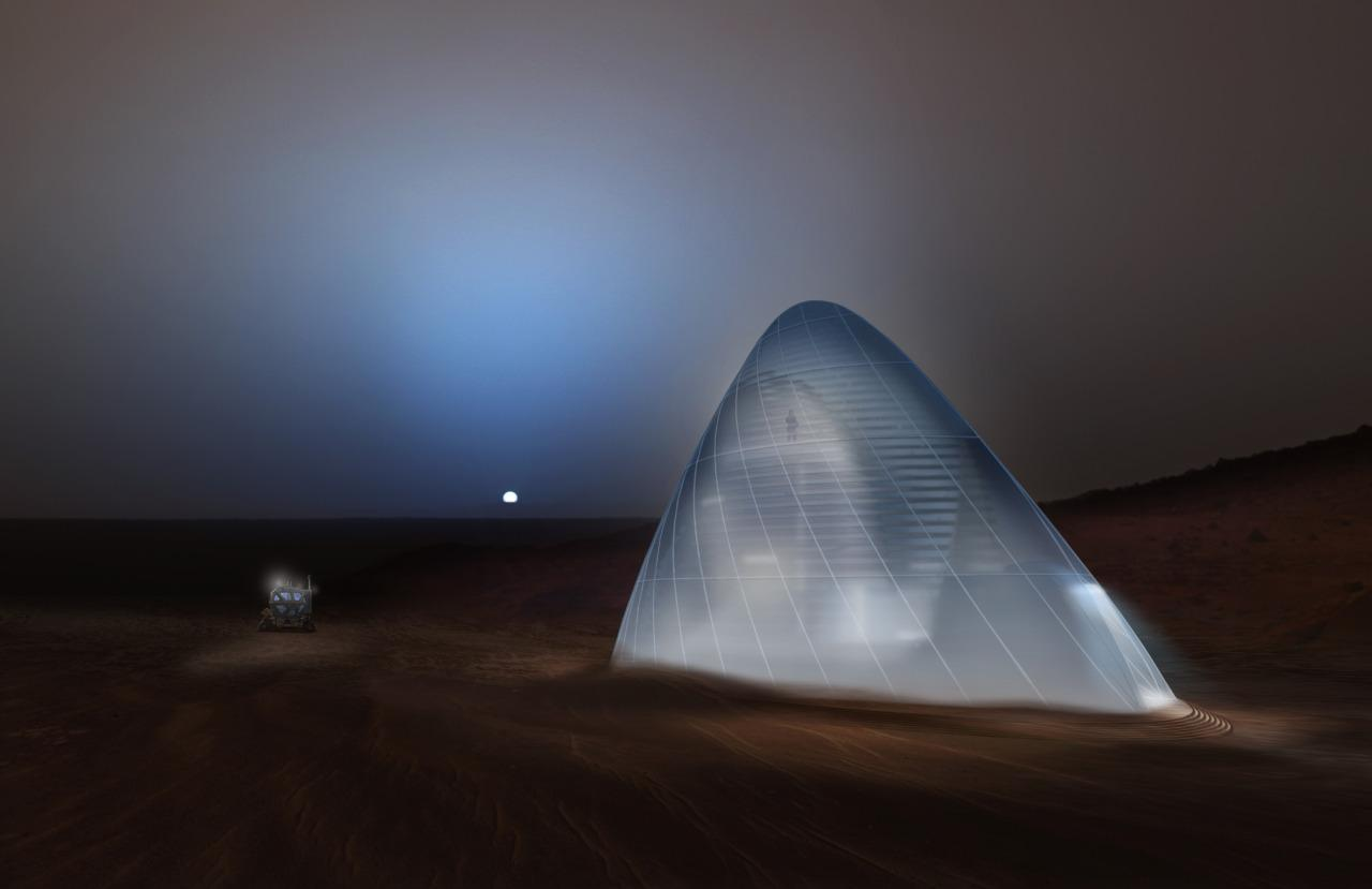 Team Space Exploration Ice House 3Dprinted habitat challenge a3dm magazine