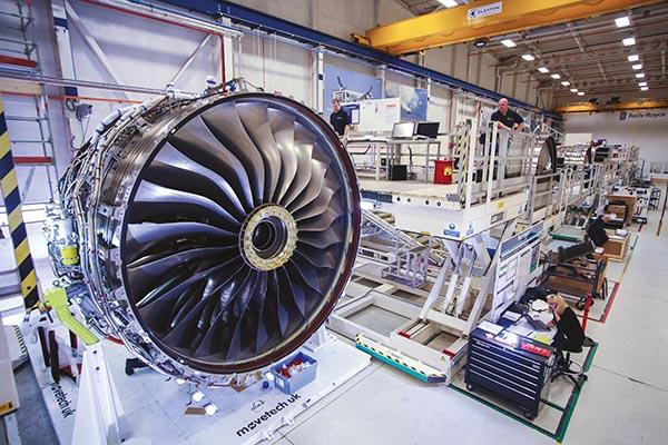 moteur-Trent-XWB1-Rolls-royce-fabrication-additive-impression-a3dm-magazine