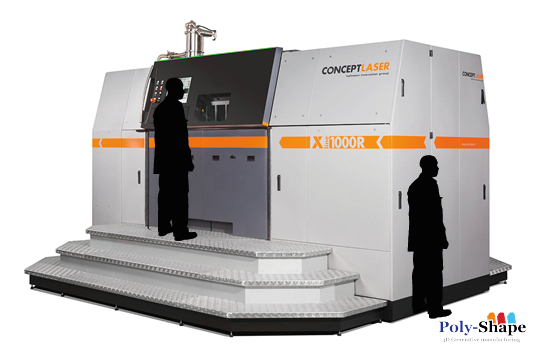 XLine Poly Shape machine concept laser fabrication additive - A3DM Magazine