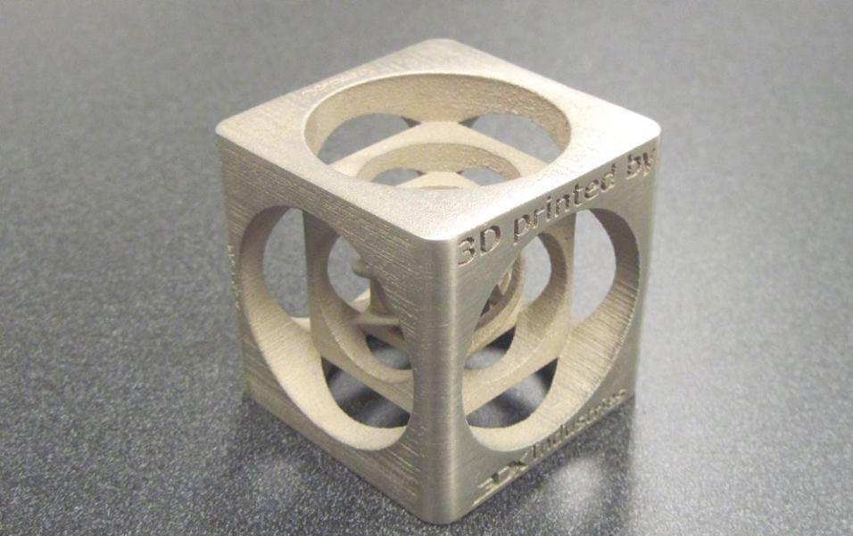cube 3DX Industries fabrication additive a3dm magazine
