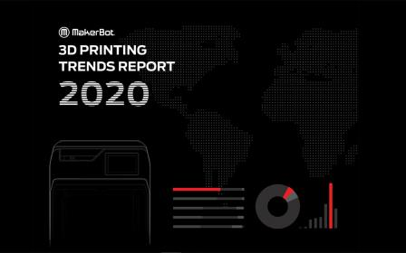 Makerbot 3D printing trends report 2020